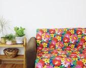 Vintage French Quilt Duvet Eiderdown Baby Floor Mat