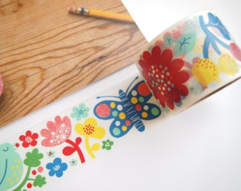Aimez le style Finnish Flower Washi Tape (38mm X 7M)