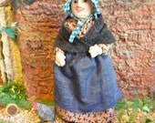 Softsculpture Dolls House Doll - Maggie