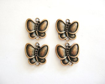Copper Butterfly Charms for your Creations-Copper Charms-Copper Butterflies