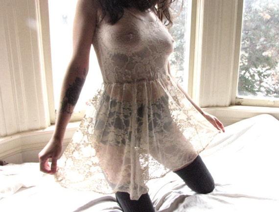 Sheer Lingerie Dress Lace Lingerie Sheer Lace Dress