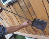 heavy duty woodstove/fireplace shovel, ash shovel, blacksmith hand forged