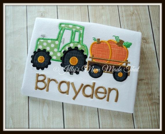 Custom Pulling Tractor T Shirts : Tractor pulling pumpkins custom shirt fall by