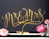 Wedding Sign - Mr and Mrs Table Sign - Joyful Collection