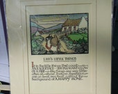 Irish Prints from Bunratty Folk Park, County Clare, Ireland