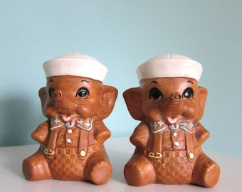 Elephant Salt and Pepper Shakers - Twin Winton