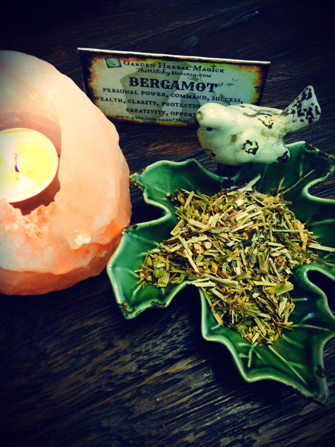 BERGAMOT Dried Loose Herb Spiritual Herb Witches