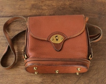 Vintage Tan Equestrian Dooney and Bourke