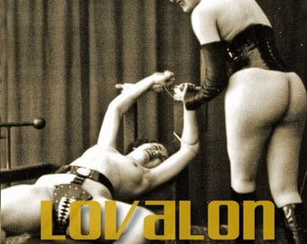 MATURE... Love Slaves... 1930's Vintage Nude Fetish Photo... Deluxe Erotic Art Print... Available In Various Sizes
