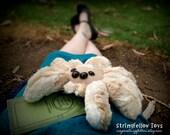 Blondie - handmade plush spider