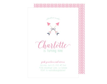 Bows and Arrows Invitation : By Bloom Designs