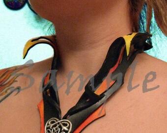 Custom Leather Posture Collar