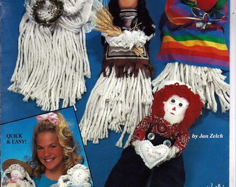 Mop Mini Doll Patterns Suzanne McNeill Design Originals No 2158