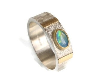 Opal Dreamer Ring October Birthstone