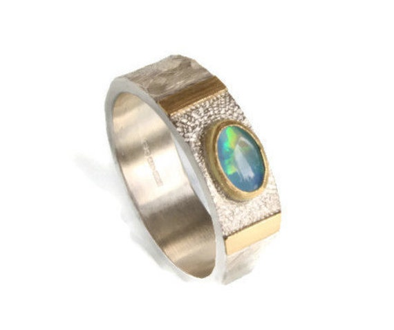 Opal Dreamer Ring October Birthstone