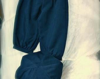 7-9yrs or 10-12yrs Admiral Navy  Blue knickers pants, little boy knickers, knicker pants, ringbearer outfit