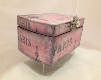 Paris Decorative Jewelry Box