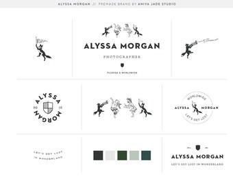 Animals on Parade | Premade Logo | Photography Logo | Hipster Logo | Identity Branding | Full Logo Suite
