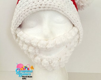 Santa Hat & Beard