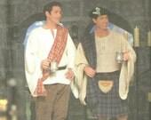 Simplicity 8913 Size BB - L, XL UNCUT Men's Celtic Costume Costume