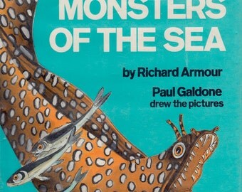 Strange Monsters of the Sea by Richard Armour, illustrated by Paul Galdone