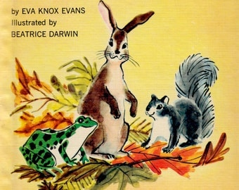 Where Do You Live? A Golden Beginning Reader by Eva Knox Evans, illustrated by Beatrice Darwin