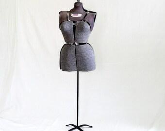 Vintage Sewing Mannequin - Dress Form - Adjustable
