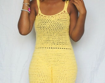 The Summer Love Crochet Romper Pattern!