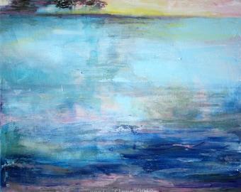 Coastal. Impressionist Seascape Painting