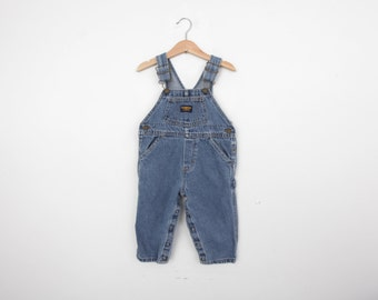 Vintage Oshkosh Overall Dungarees in Denim  2T