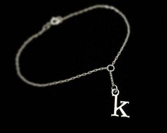 Delicate Monogram/Initial Chain Bracelet