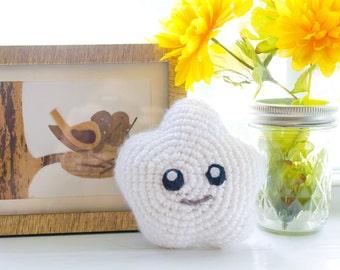 Cloud Plush Toy - Custom Made -  Crochet Cloud