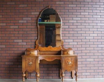 Antique Vanity / Vintage Vanity / Vanity w/Mirror ~ 1920-1930's Era ~ Paint To Order ~