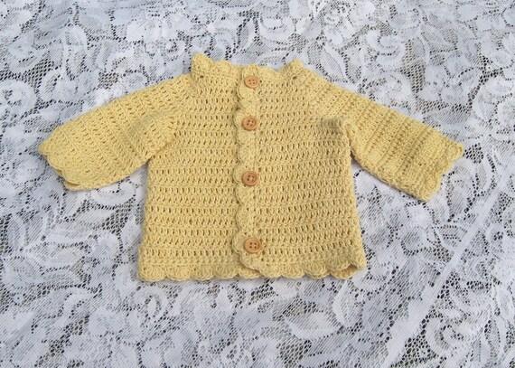 Organic Baby Gifts Ireland : Organic baby sweater crochet cardigan by amandasimagination