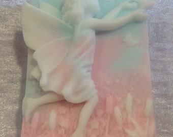 2 X Fairy Soaps. Handcrafted Fragranced Gift Soaps.