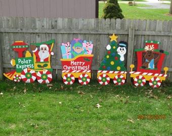 Rudolph Christmas Yard Decorations
