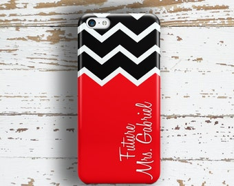 Engagement gift, Soon to be Mrs Iphone 5c case Future Mrs Iphone 6 case Bride to be iPhone 5s case Engagement party iPhone 4 case red (1392P