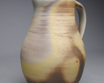 Clay Pitcher Wood Fired B52