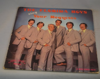 Vintage 3 Record Set The Florida Boys Sing Your Requests Album 780417
