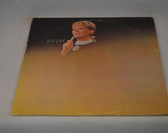 Vintage Record Petula Clark: Just Pet Album WS-1823