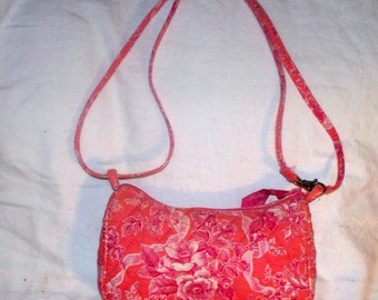 Vera Bradley Handbag - Frannie -  Girls Kids Purse - Retired Pattern