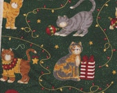 Paws & Claws ~ Retired Out of Print Cat Fabric by Moda FQ