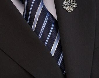 American Water Spaniel brooch - sterling silver.