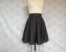 unique circle skirt related items etsy