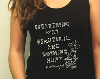 Everything Was Beautiful and Nothing Hurt, Vonnegut Tank (Made to Order)