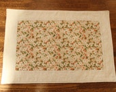Quilted Spring Floral Placemats