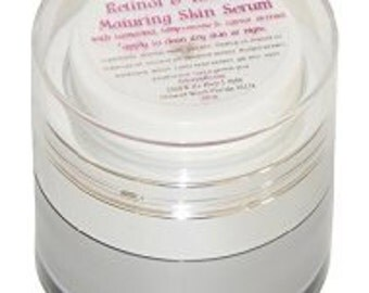 Retinol and Rhubard Maturing Skin Serum, .50 Oz, By Diva Stuff
