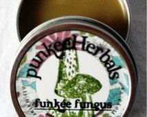 Funkee Fungus Salve - black walnut hull & tea tree fungal salve - 1 oz