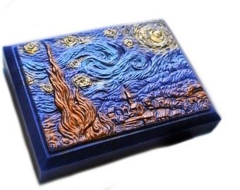 Starry Night Soap Bar in Metallic Colors