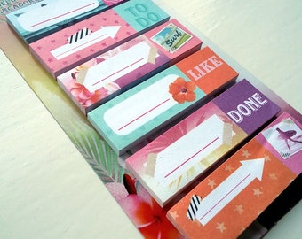 Sticky Notes - Bookmarks - To Do Like Done - Colorful